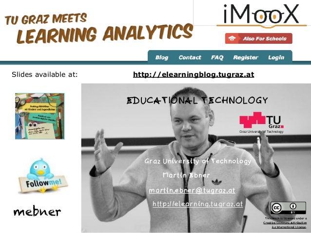 When Learning Analytics Meets MOOCs