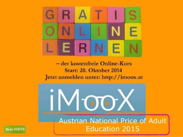 Austrian National Price of Adult Education 2015