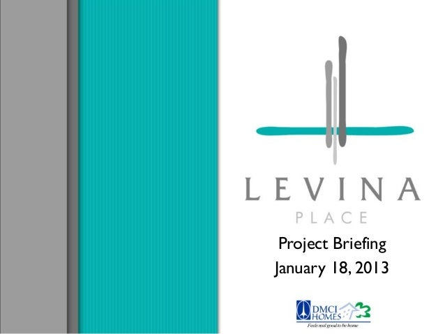 Project Briefing January 18, 2013