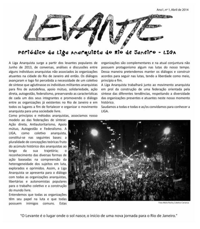 Jornal Levante   edição 1