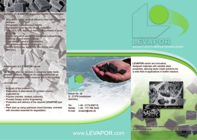 Levapor Product Flyer