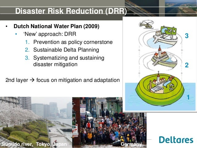 15th of May 2014Seminar on Levee Management, Brisbane, Disaster Risk Reduction (DRR) • Dutch National Water Plan (2009) • ...
