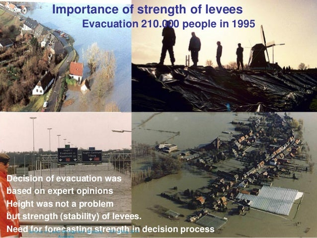 17 march 2011 11 Evacuation 210.000 people in 1995 Decision of evacuation was based on expert opinions Height was not a pr...