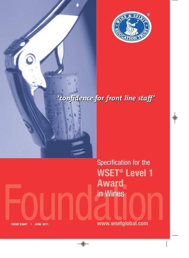 ®                          'confidence for front line staff'                                       Specification for the  ...