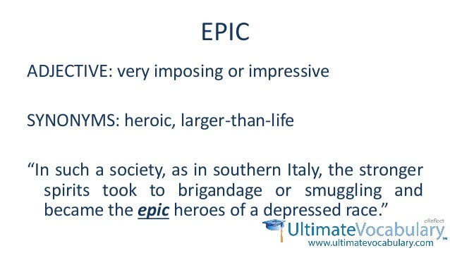 Imposing Synonym Essential Gre Words Level 2 Lesson 3