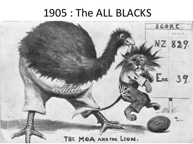 1905 : The ALL BLACKS  11