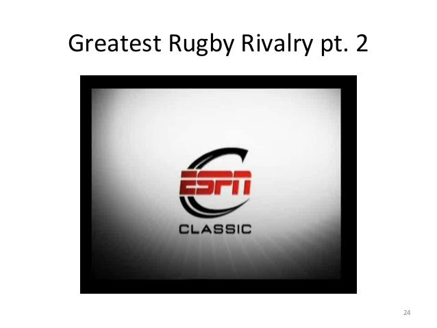 Greatest Rugby Rivalry pt. 2  24