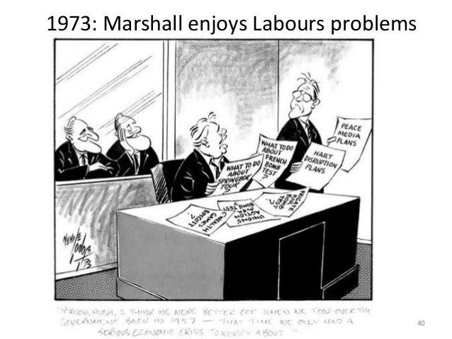 1973: Marshall enjoys Labours problems  40