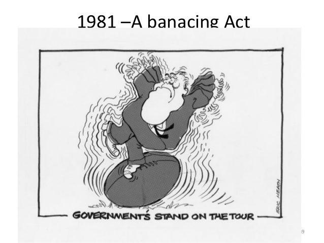 1981 –A banacing Act  49