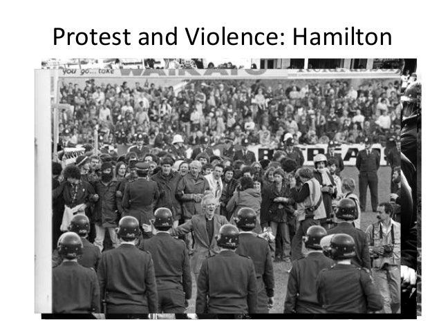 Protest and Violence: Hamilton  59