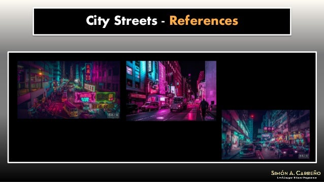 City Streets - References