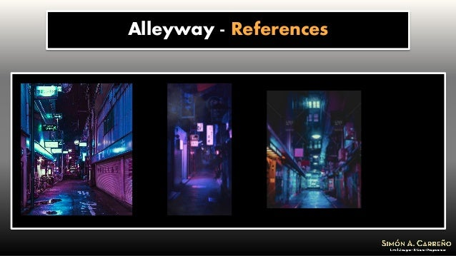 Alleyway - References