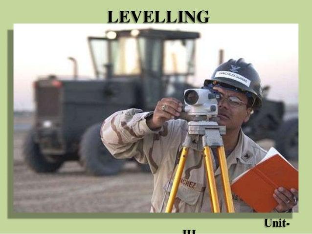 LEVELLING Unit-