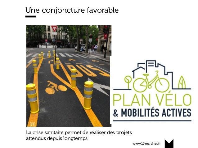 www.15marches.fr Une conjoncture favorable La crise sanitaire permet de réaliser des projets attendus depuis longtemps