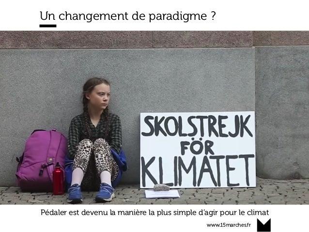 www.15marches.fr Un changement de paradigme ? Pédaler est devenu la manière la plus simple d'agir pour le climat