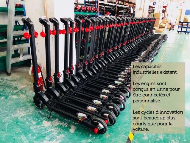 www.15marches.fr Batteries become a commodity Les capacités industrielles existent. Les engins sont conçus en usine pour ê...