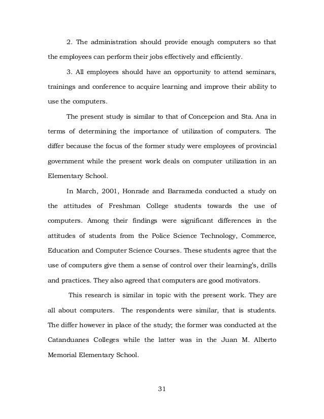 educational experience essay
