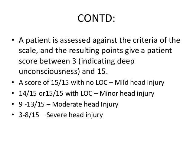 CONTD • Circulation • Monitor circulatory status using the following parameters. Blood pressure, heart rate. Ensure adequa...