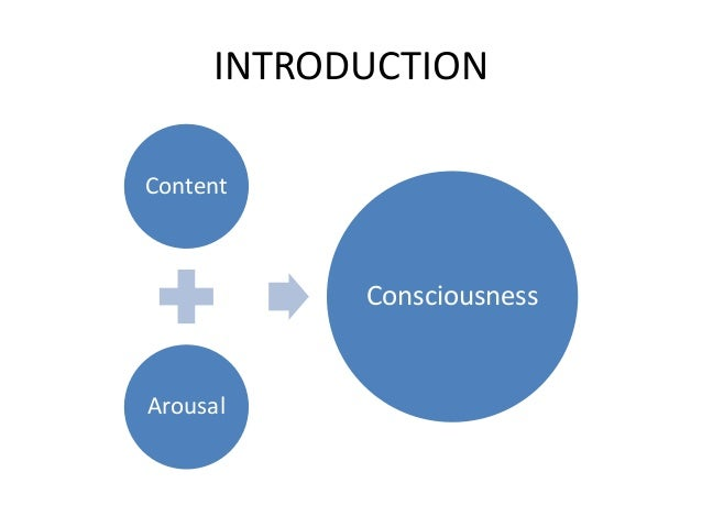 INTRODUCTION Content Arousal Consciousness