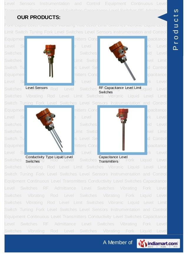 Trumen Technologies Pvt. Ltd., Indore, Level Switches & Sensors Slide 3