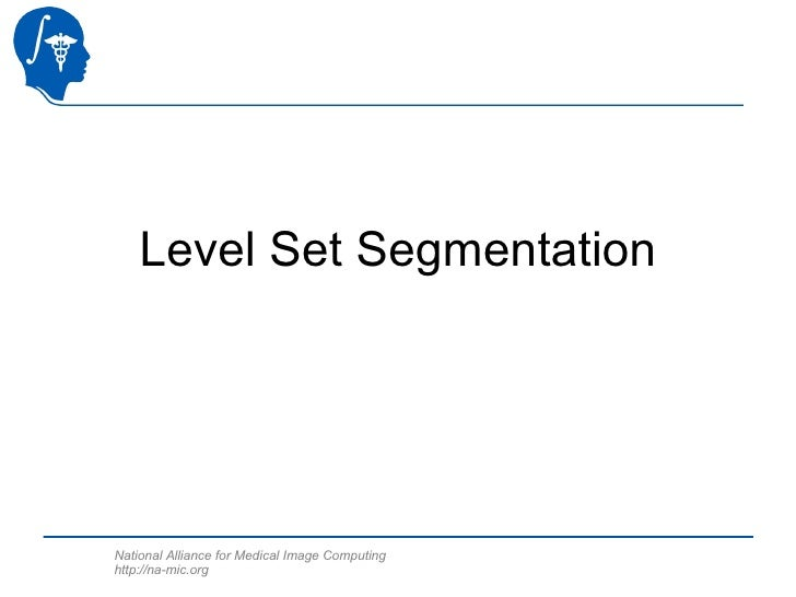 Level Set Segmentation