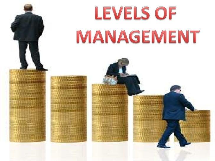 LEVELS OF<br /> MANAGEMENT<br />