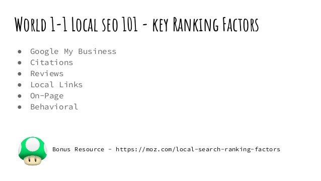 Level Up with Local SEO Slide 2