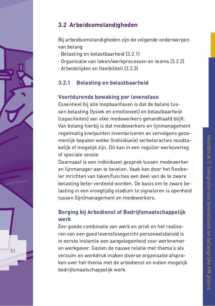 3.2 Arbeidsomstandigheden     Bij arbeidsomstandigheden zijn de volgende onderwerpen     van belang     · Belasting en bel...
