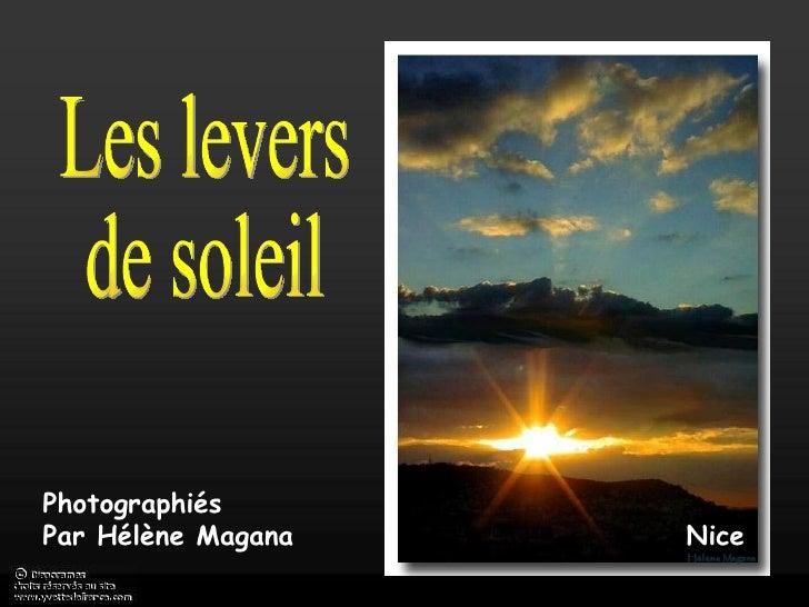 Nice Photographiés Par Hélène Magana Les levers de soleil