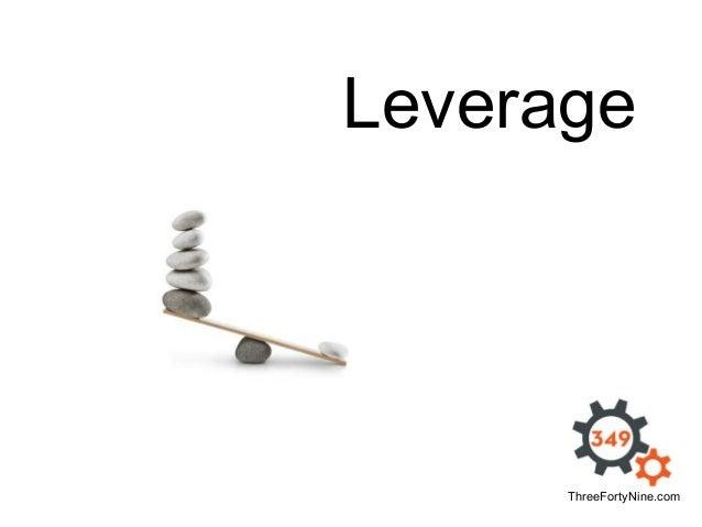 Leverage  ThreeFortyNine.com