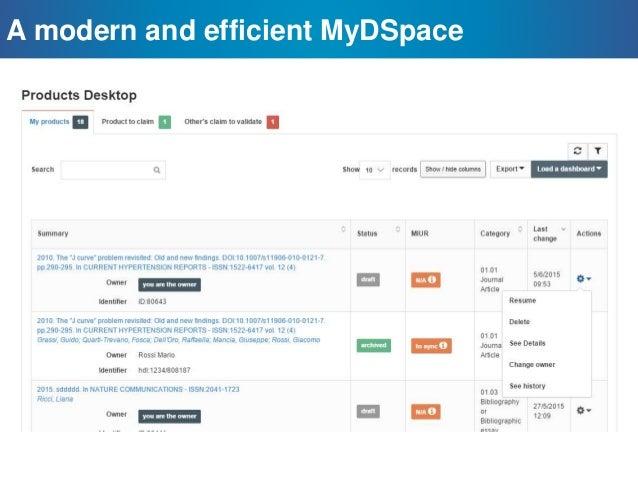 Leverage DSpace for an enterprise, mission critical platform