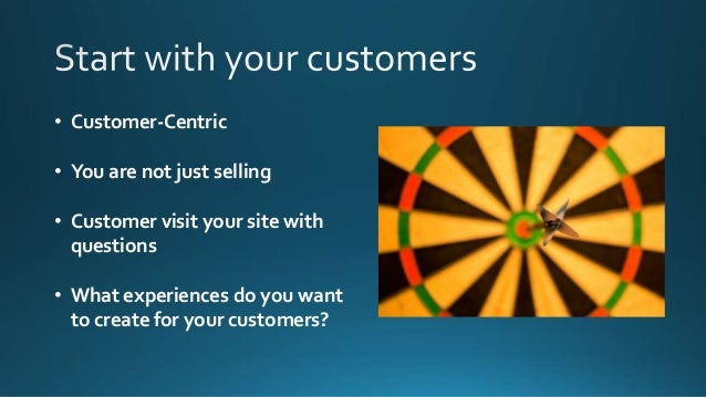 • Offer a seamless experience from touchpoint to touchpoint • Give them an experience to share • This includes your brand,...