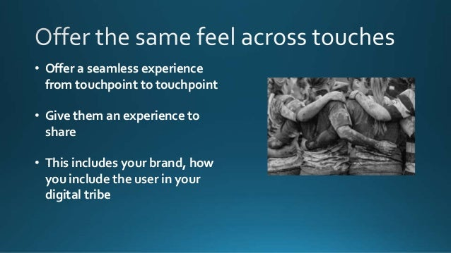 • Use social media to: • Build brand • Drive traffic • Build a content strategy that: • Empathizes with customers • That t...