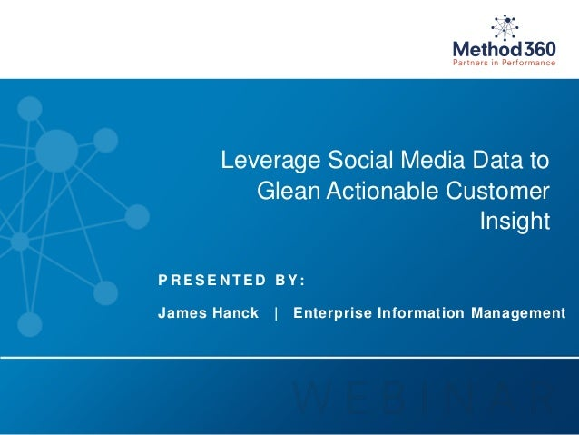Leverage Social Media Data with SAP Data Services