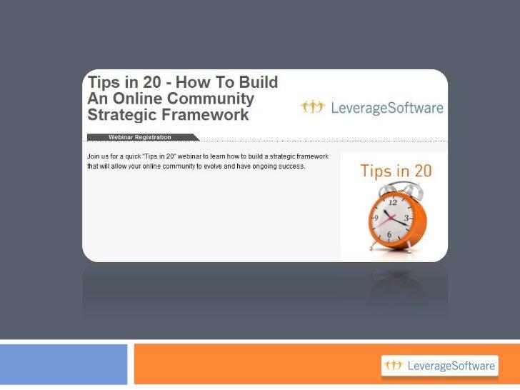 Community Strategy FrameworkBUSINESS GOALS       ENGAGEMENT MODEL & PLAN                 1. Content Plan                 2...