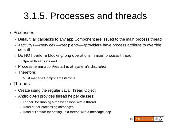 Leveraging Android S Linux Heritage At Andevcon3