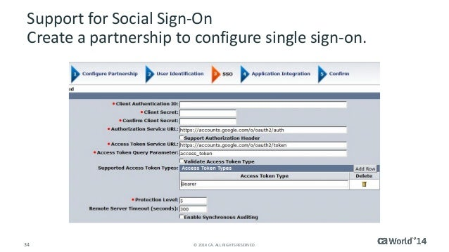 ca single sign on pdf