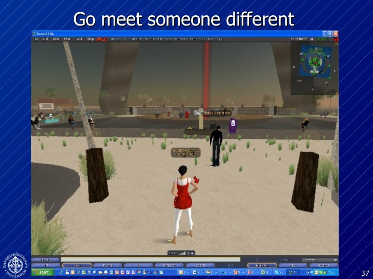 Go meet someone different