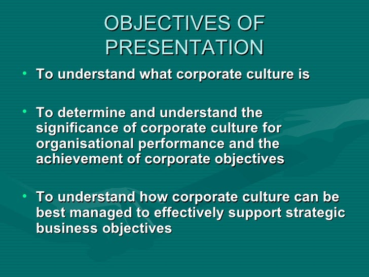 Corporate culture as competitive advantage