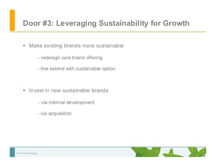 7aa351808 Leveraging Environmental Sustainability at Clorox with Brita