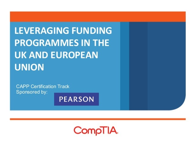 Leveraging Funding Programs in the UK and European Union