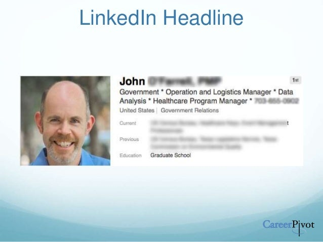 Leveraging LinkedIn - Creating a Professional Brand That People will …
