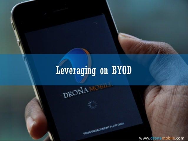 Leveraging on BYODwww.dronamobile.com