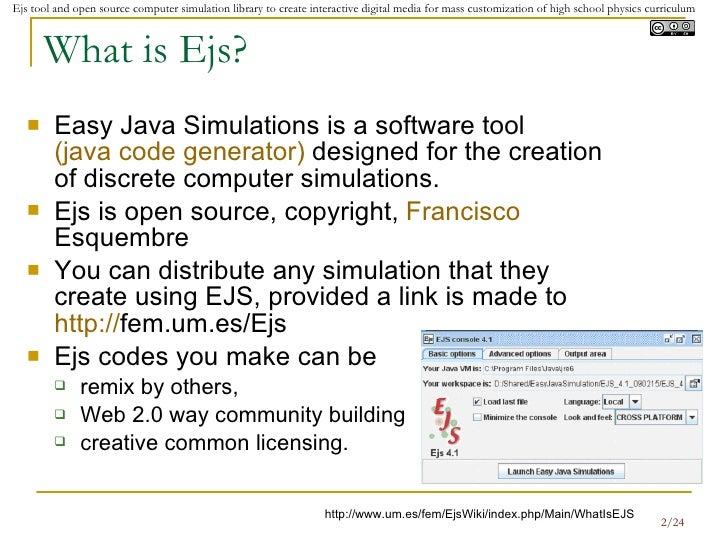 Leveraging On Easy Java Simulation Tool And Open Source Computer Simu…
