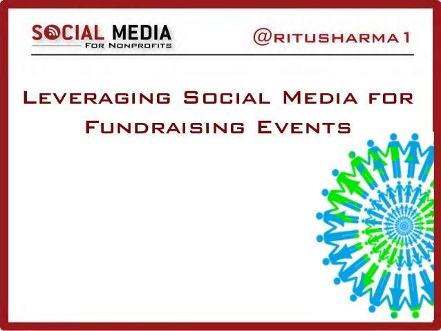 Leveraging Social Media for Fundraising Events