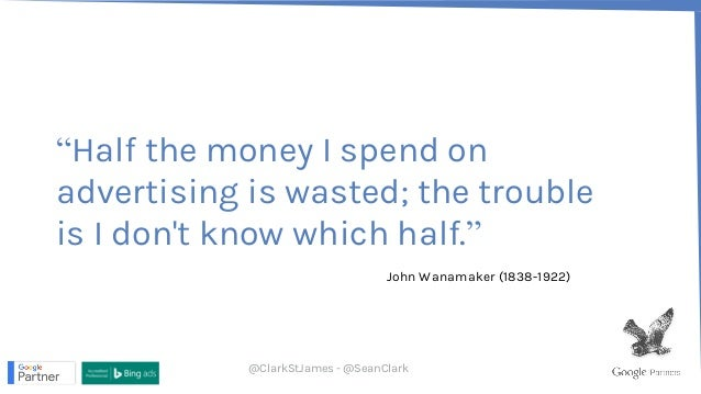 Leveraging the Google brain for improved Adwords ROI - Sean Clark - SearchNorwich #1 Slide 2