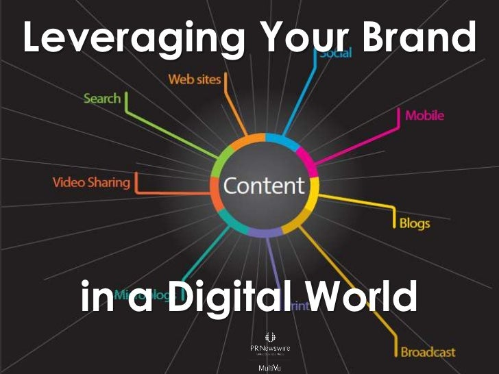 Leveraging Your Brand<br />in a Digital World<br />