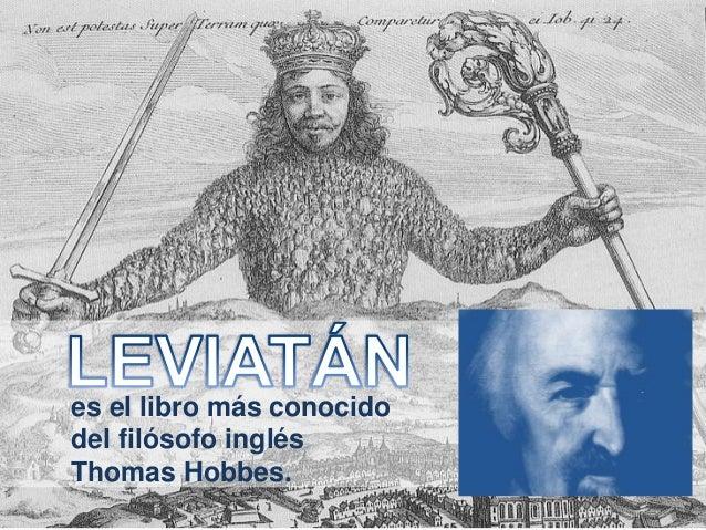 es el libro más conocido del filósofo inglés Thomas Hobbes.