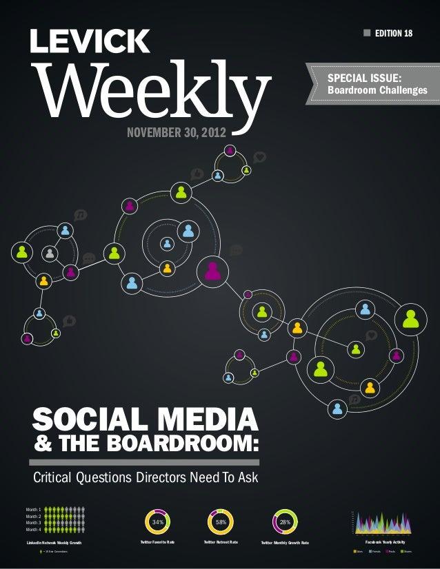 EDITION 18  Weekly                         November 30, 2012                                                              ...