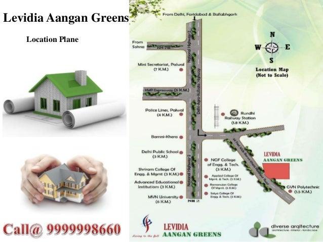 Levidia Aangan Greens – Luxurious Lifestyle At Palwal